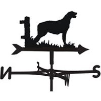 Weathervane in Irish Wolfhound Design - Medium (Cottage)