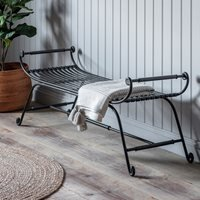 Product photograph showing Tippacott Iron Bench
