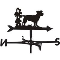 Product photograph showing Weathervane In Jack Russell Design - Large Traditional