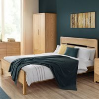 Julian Bowen Curve Wooden Bed Frame - King