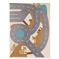 Children's Aiden Car Playmat and Rug