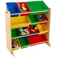 Product photograph showing Kids Primary Storage Bin Unit