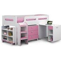 Julian Bowen Kimbo Cabin Bed in Pink
