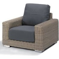 Product photograph showing Clarence Rattan Armchair