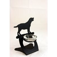 Labrador Twilight Tea Light Holder by the Profiles Range