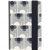 Orla Kiely A5 Hardback Notebook in Ela Elephant