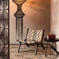 Product photograph showing Dutchbone Landa Lounge Chair