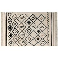 Product photograph showing Lorena Canals Washable Bereber Ethnic Rug - 120cm X 180cm