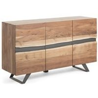 Product photograph showing Irvin Large Acacia Wood Sideboard