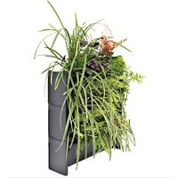 Product photograph showing Plantbox Living Wall Stacking Planters - Set Of 3