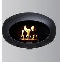 Le Feu Wall Bio Ethanol Fireplace - Black