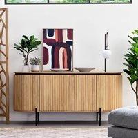 Licia Mango Wood Sideboard