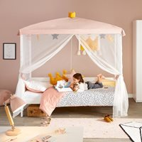 Lifetime Princess Four Poster Bed - Lifetime Whitewash