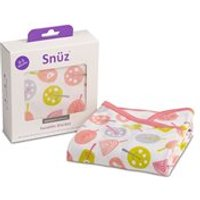 Snuz Swaddle Baby Blanket in Little Tweets