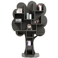 Product photograph showing Mathy By Bols Louane Tree Bookcase - Mathy Summer Pink