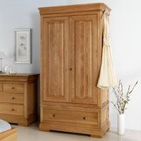 Willis & Gambier Lyon Classic Double Wardrobe with Drawer
