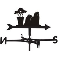 Product photograph showing Weathervane In Maltese Design - Large Traditional