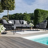 Maze Rattan Marina 3 Seat Sofa Set