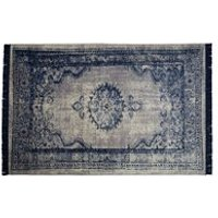 Product photograph showing Zuiver Marvel Persian Style Rug In Neptune Blue - 200cm X 300cm