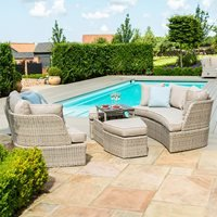 Maze Rattan Cotswolds Daybed