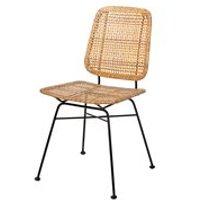 Bloomingville Pair of Rattan Laurel Dining Chairs