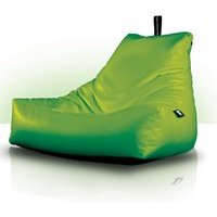 Product photograph showing Extreme Lounging Monster B Indoor Bean Bag In Lime