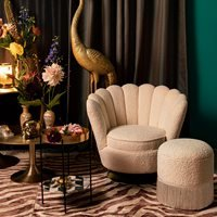 Product photograph showing Bold Monkey Mother Of All Shells Lounge Chair