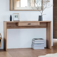 Product photograph showing Kimber Console Table With A Drawer