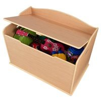 Austin Kids Toy Box in Natural Finish