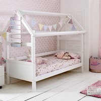 Nordic Playhouse Bed Frame 1 in White