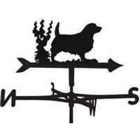 Weathervane in Norfolk Dog Design - Large (Traditional)