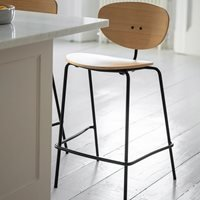 Bromley Set of 2 Bar Stools - Oak