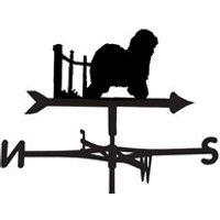 Weathervane in Old English Sheepdog Design - Large (Traditional)