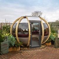 Medium Summerhouse Garden Pod - Mauve