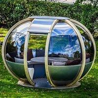 Small Oval House Garden Pod - Wasabi