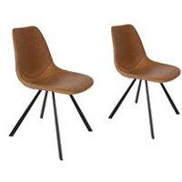 Dutchbone Set of 2 Franky Chairs