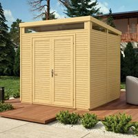 Rowlinson Paramount 8x8 Pent Security Shed - Anthracite