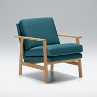Product photograph showing Lovi Furniture Pepper Velvet Armchair