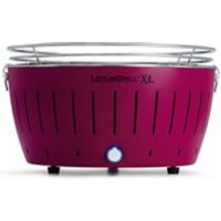 Lotus Grill XL BBQ in Plum with Free Lighter Gel and Charcoal