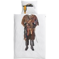 Product photograph showing Snurk Childrens Pirate Duvet Bedding Set