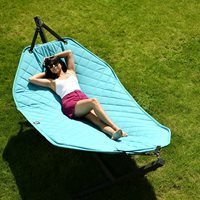 Product photograph showing Extreme Lounging B Hammock - Lime Green