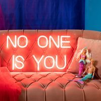 Bold Monkey No One LED Neon Wall Light