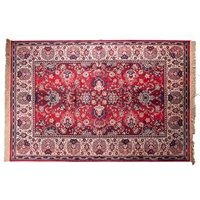 Dutchbone Bid Antique Style Persian Rug in Old Red - Medium