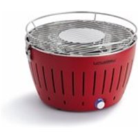 LOTUS GRILL BBQ in Red with Free Lighter Gel & Charcoal - Lotus Standard