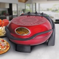 SMART ROTATING STONE AND GRILL PIZZA OVEN