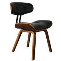 Product photograph showing Dutchbone Blackwood Chair - Black