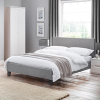 Rialto Upholstered Bed by Julian Bowen - Double
