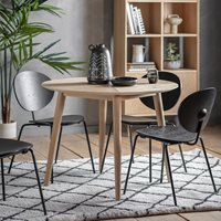Product photograph showing Tortona Round Dining Table