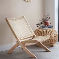 Product photograph showing Garden Trading Farrah Woven Chair
