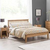 Julian Bowen Salerno Solid Oak Bed - Single